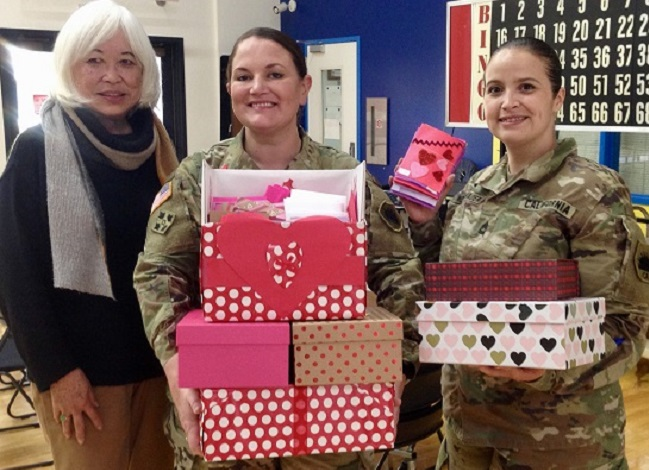 South San Francisco Seniors' 'Operation Valentine' Sends 1800 Handmade Cards to Soldiers Overseas