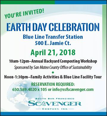 Join the SSF Scavengers Earth Day Celebrations Set for April 21st