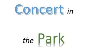 Save the Date! Concert in the Park set for Saturday September 22, 2018