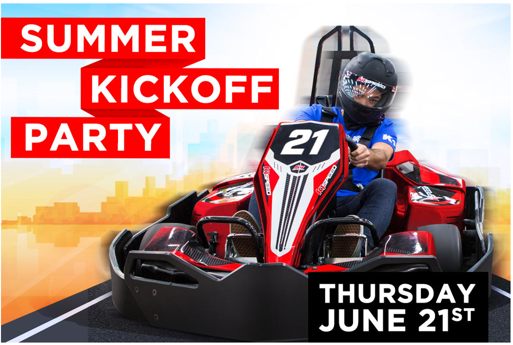 Summer Kick Off Party at K1 Speed Set for Thursday June 21st