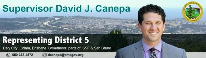 SMC Sup Canepa Press Release: San Mateo County First to Accept Diesel Free by '33 Challenge