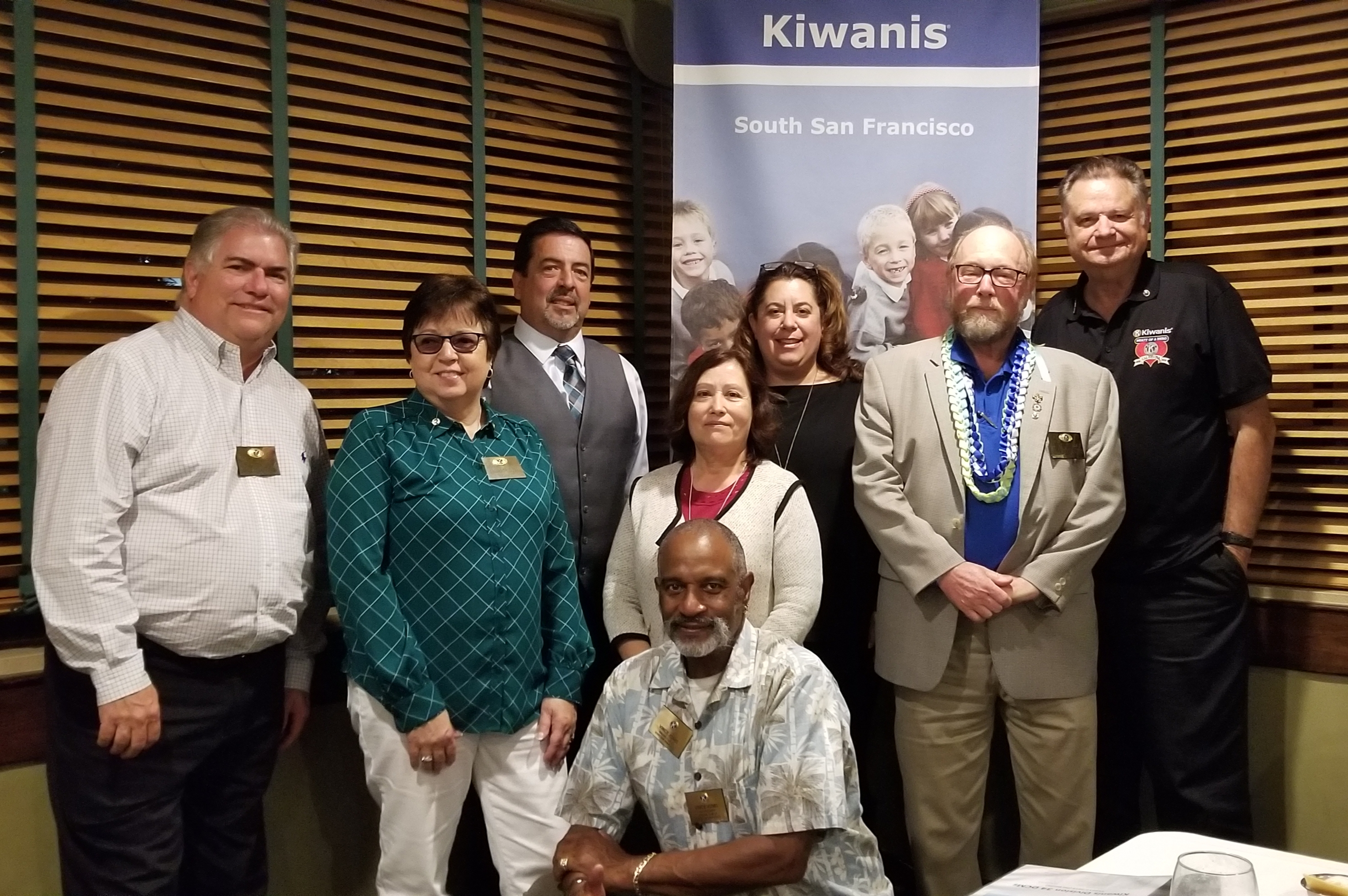 Kiwanis Club of South San Francisco installs new officers