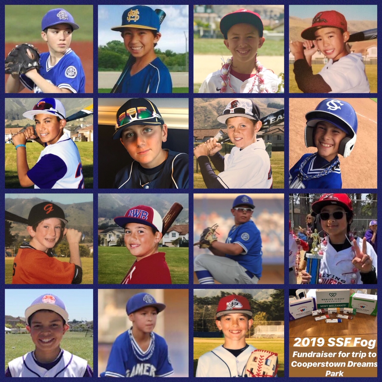 Support the 2019 SSF FOG Team as they Fund Raise Their Way to Cooperstown!
