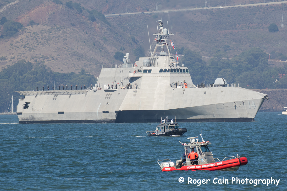 SSFFD Greets the Fleet Week Parade of Ships 2018; Photos by Roger Cain